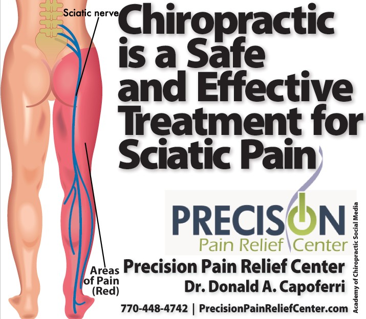 Chiropractic Is A Safe & Effective Treatment For Sciatic Pain