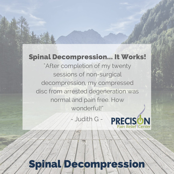 Spinal Decompression... It Works!
